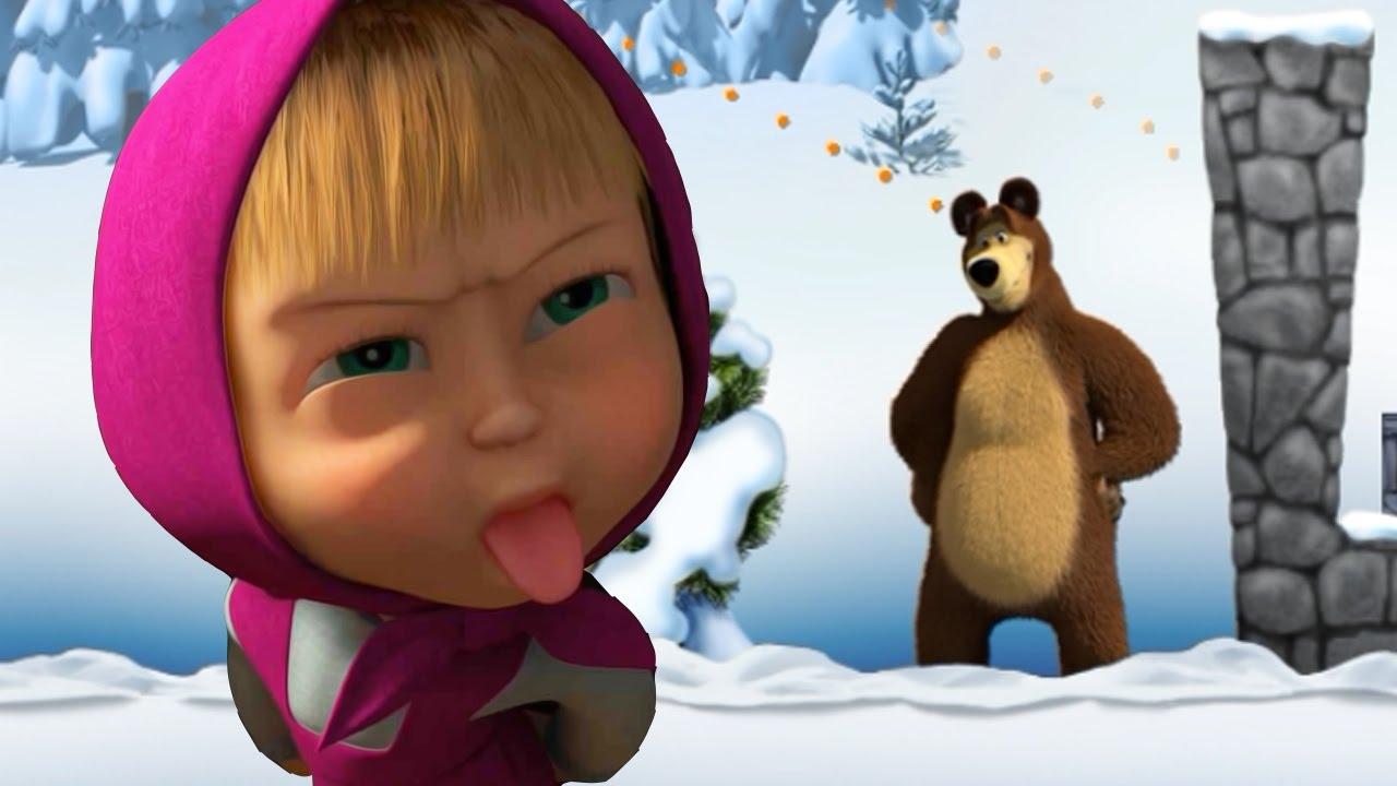 Маша и медведь новый год 2017 смотреть